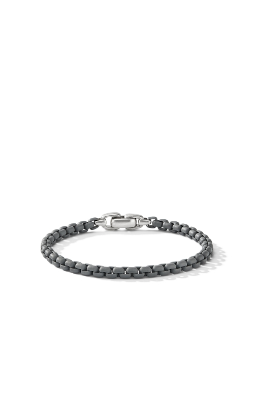 Box Chain Bracelet in Grey product image