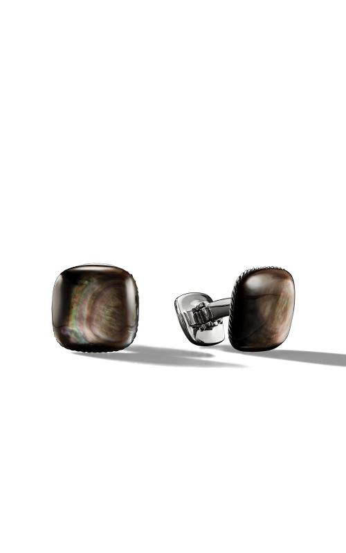 Streamline® Cufflinks with Black Mother-of-Pearl product image