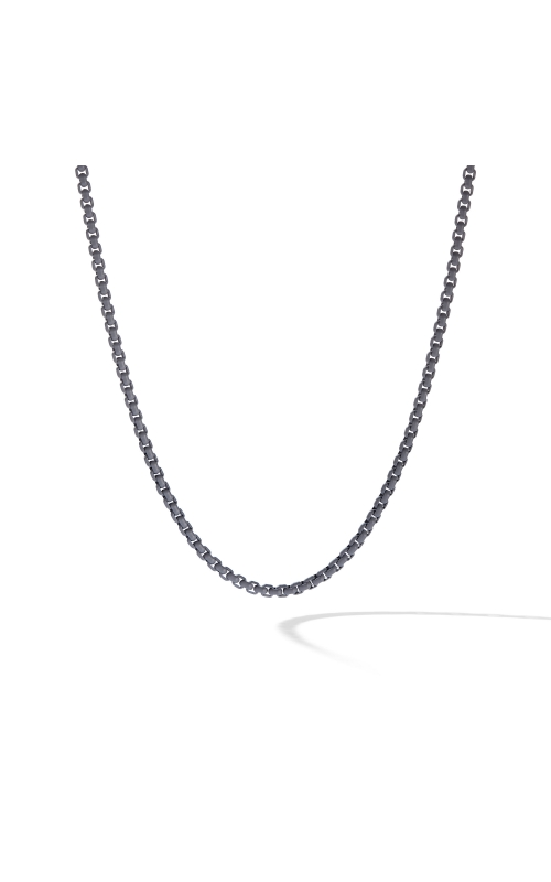 Box Chain Necklace in Grey product image