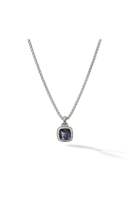 Albion® Pendant with Black Orchid and Diamonds product image