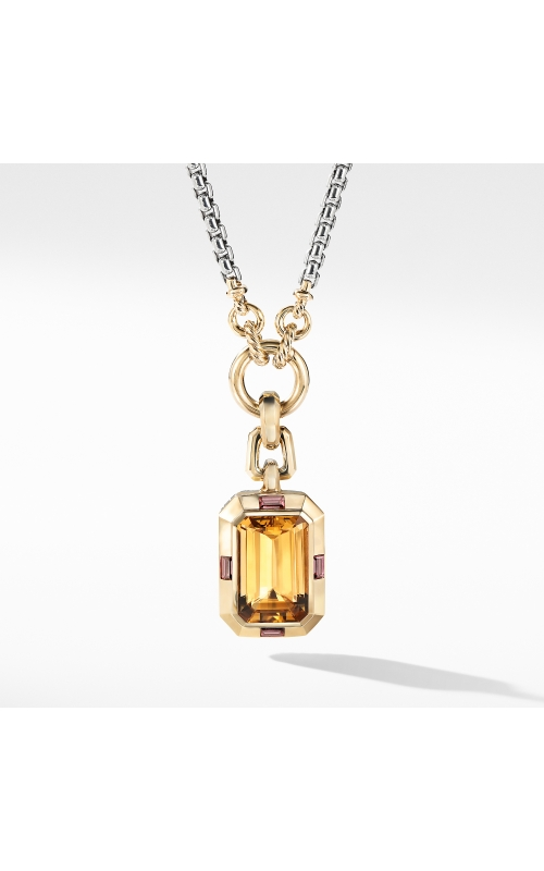 Novella Pendant with Citrine and 18K Yellow Gold product image