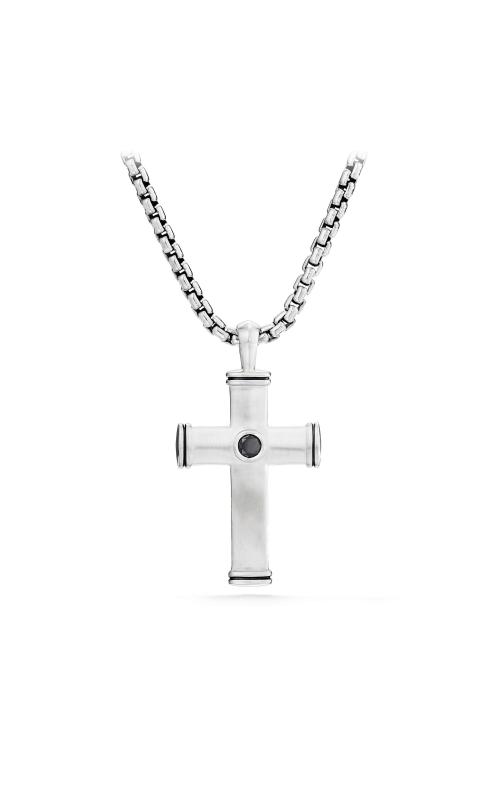 Streamline® Cross Tag with Black Diamonds product image