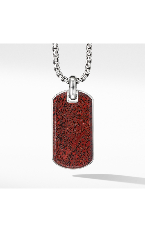 Streamline® Tag with Red Agate product image
