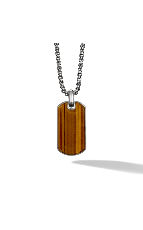 Streamline® Tag with Tigers Eye product image