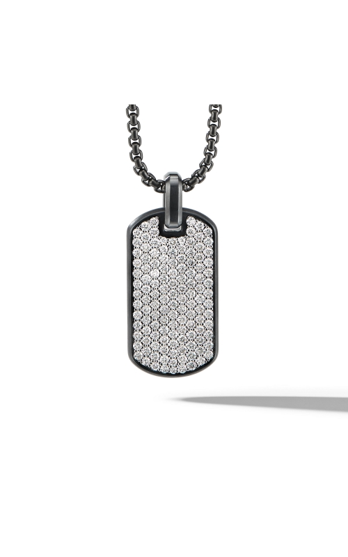 Streamline® Tag in Black Titanium with Diamonds product image