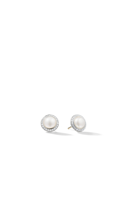 Pearl Earring with Diamonds product image