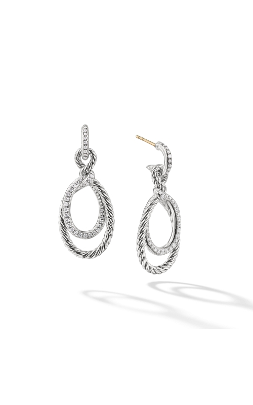 Continuance Drop Earrings with Diamonds product image