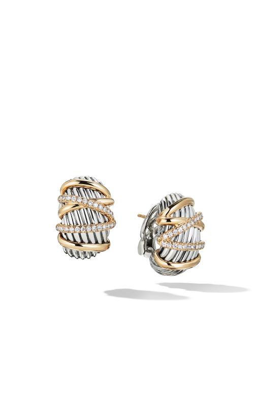 Helena Shrimp Earring with 18K Gold and Diamonds product image