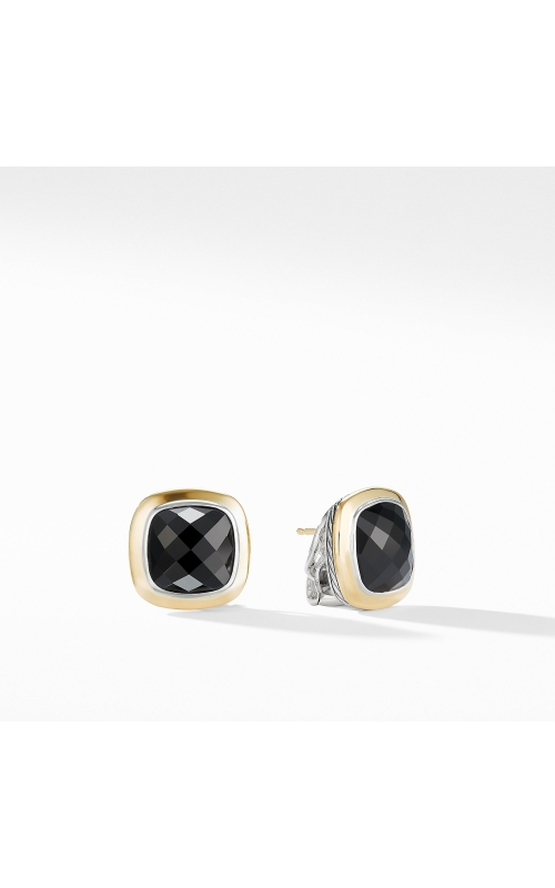 Albion® Stud Earrings with 18K Gold and Black Onyx product image