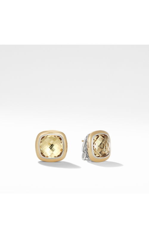 Albion® Stud Earrings with 18K Gold and Champagne Citrine product image