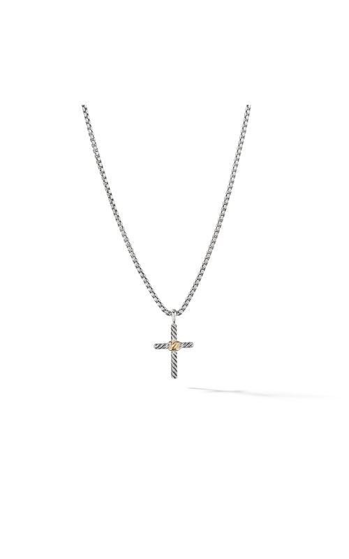 Cross Necklace with 14K Gold product image