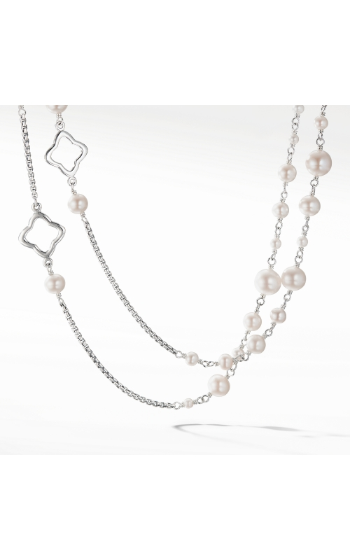 Bijoux Chain Necklace with Pearls product image