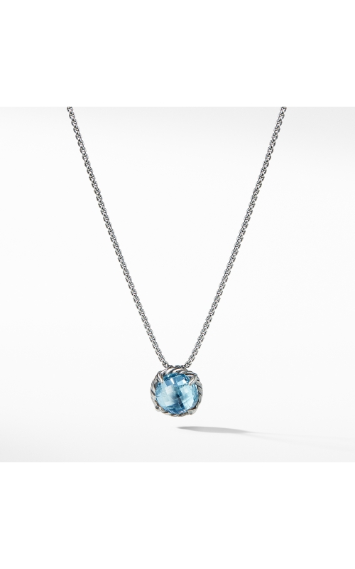 Chatelaine® Pendant Necklace with Blue Topaz product image
