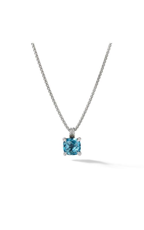 Pendant Necklace with Hampton Blue Topaz and Diamonds product image