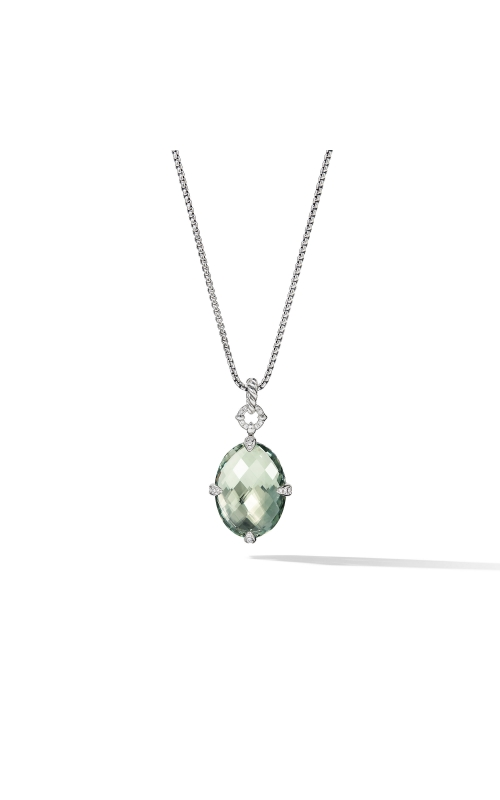 Chatelaine® Small Pendant Necklace with Prasiolite product image