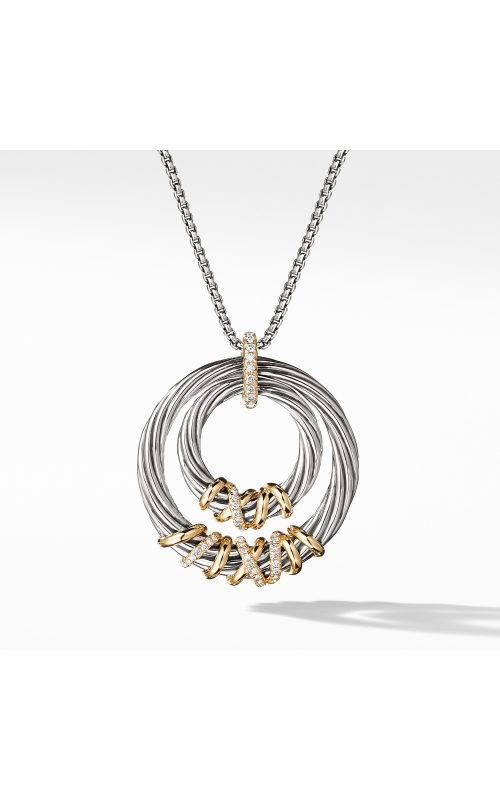 Helena Pendant Necklace with 18K Gold and Diamonds product image