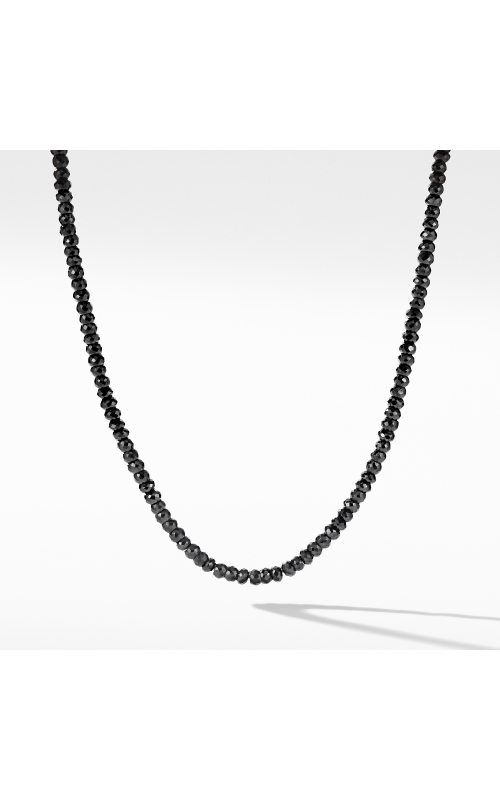 Spiritual Bead Necklace with Black Spinel product image