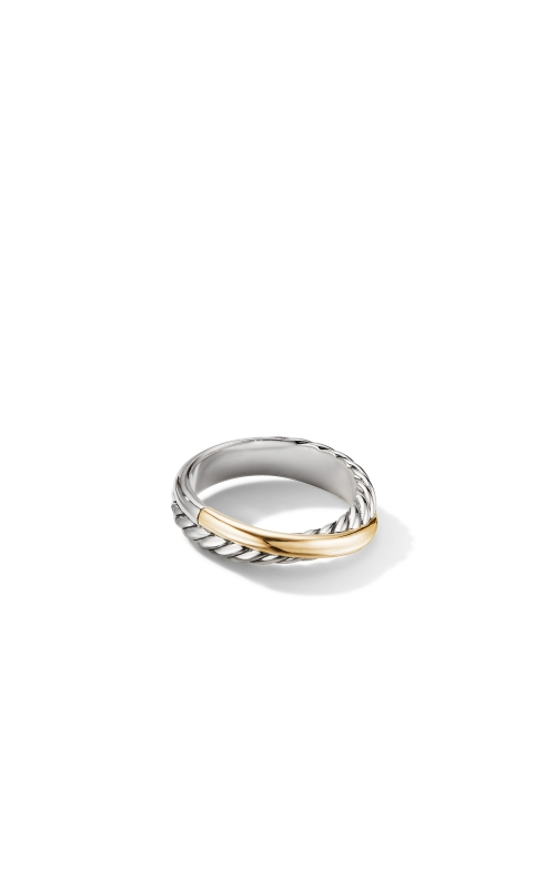 Crossover Ring with 18K Yellow Gold product image