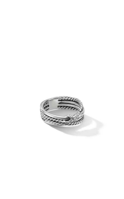 X Collection Ring with Diamonds product image