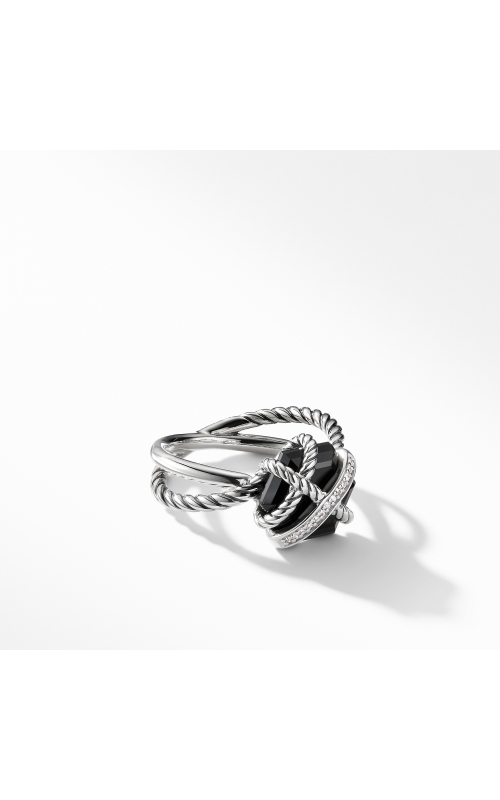 Ring with Black Onyx and Diamonds product image