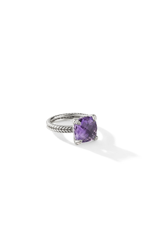 Châtelaine Ring with Amethyst and Diamonds product image