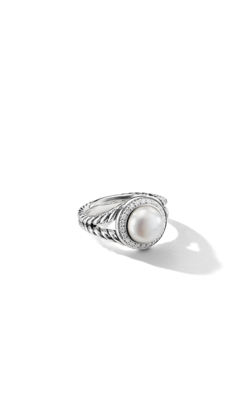 Pearl Ring with Diamonds product image