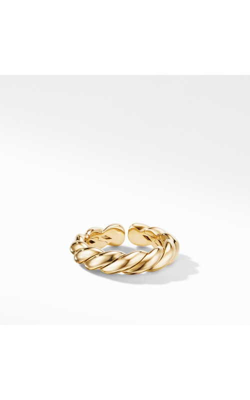 Gold Flex Band Ring in 18K Yellow Gold product image