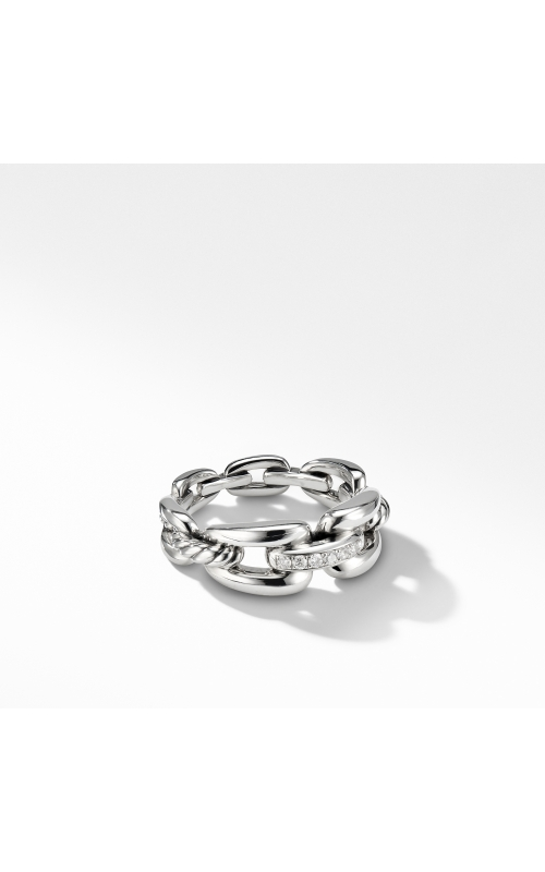 Wellesley Link™ Chain Ring with Diamonds product image