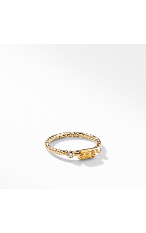 Novella Ring in Citrine with Diamonds product image