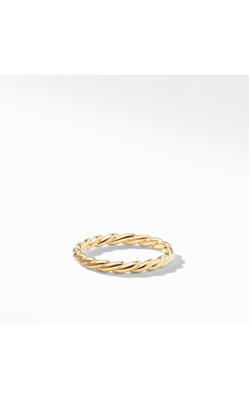 Paveflex Ring in 18K Gold, 2.7mm product image