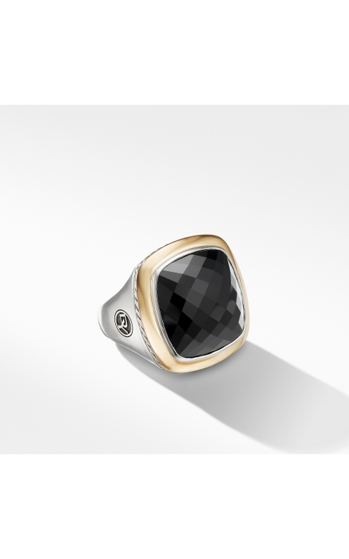 Albion® Statement Ring with 18K Gold and Black Onyx product image