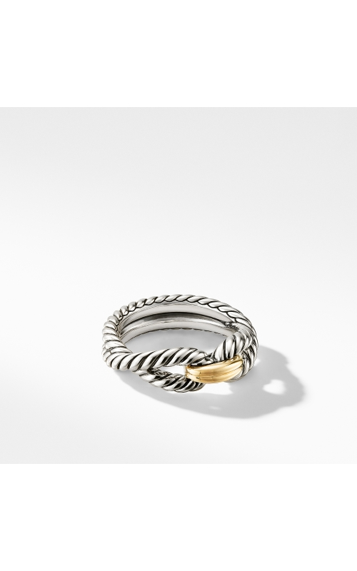Cable Loop Ring with 18K Gold product image