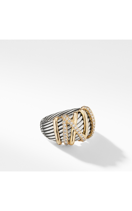 Helena Statement Ring with 18K Gold and Diamonds product image