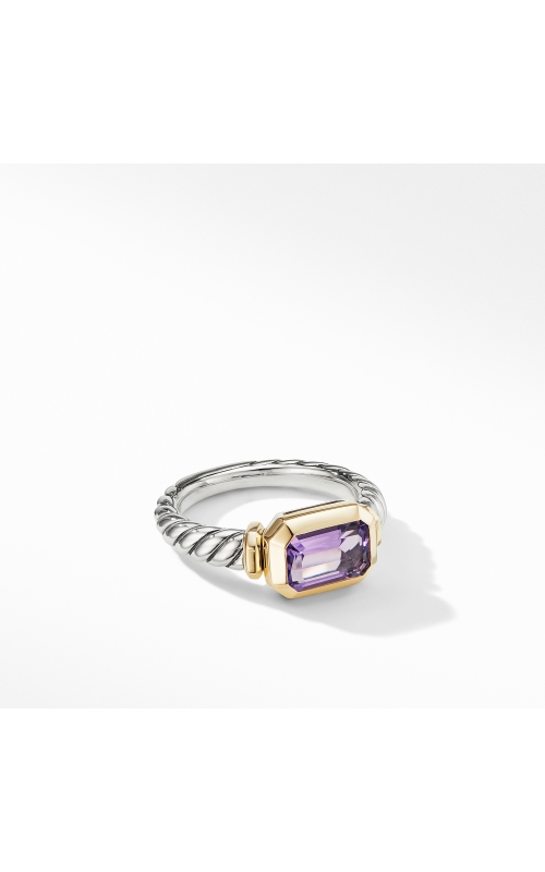 Novella Ring with Amethyst and 18K Yellow Gold product image