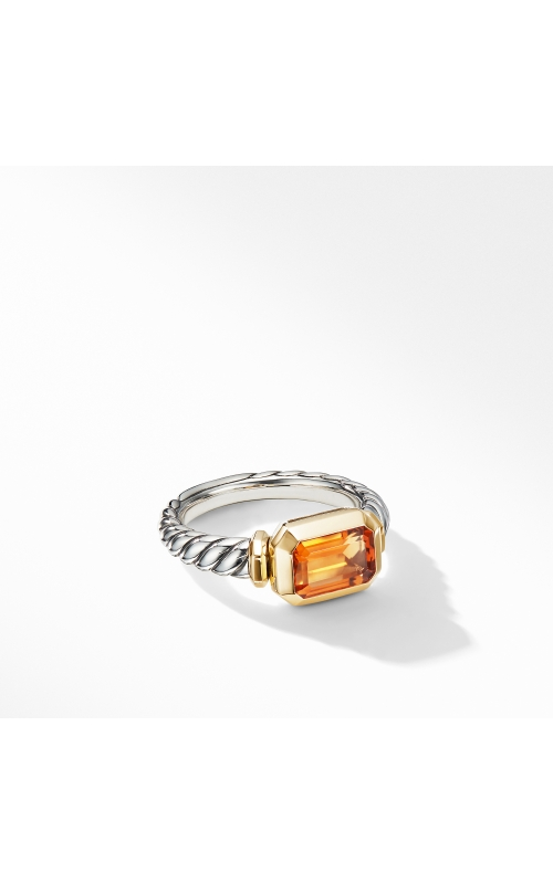 Novella Ring with Madeira Citrine and 18K Yellow Gold product image