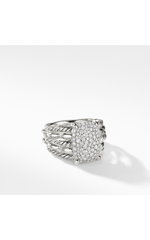 Tides Statement Ring with Pavé Plate product image