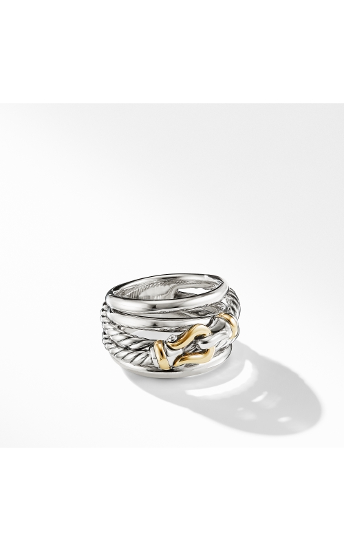 Buckle Ring with 18K Yellow Gold product image