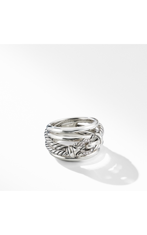 Buckle Ring with Diamonds product image