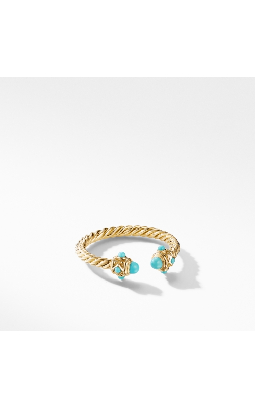 Renaissance Ring in 18K Yellow Gold with Turquoise product image