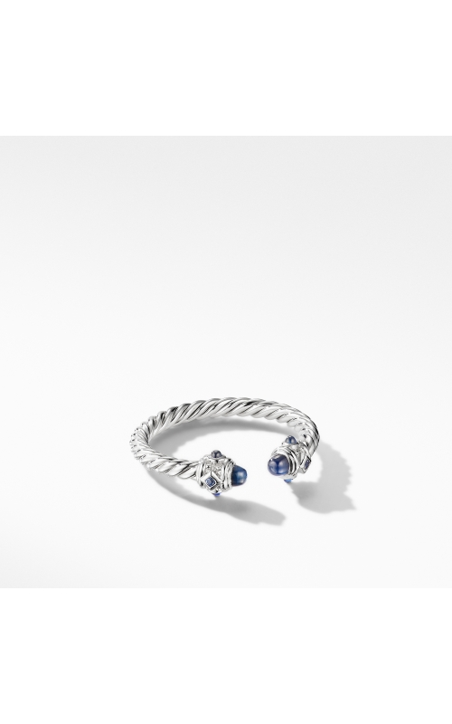 Renaissance Ring in 18K White Gold with Blue Sapphires product image