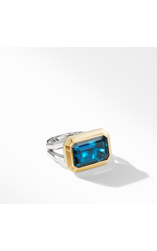 Novella Statement Ring with Hampton Blue Topaz and 18K Yellow Gold product image
