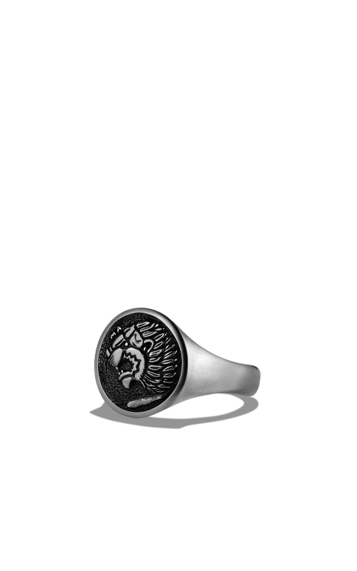 Petrvs Lion Signet Pinky Ring product image