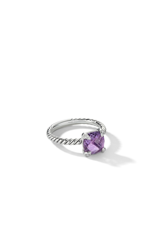 Chatelaine® Ring with Amethyst and Diamonds product image
