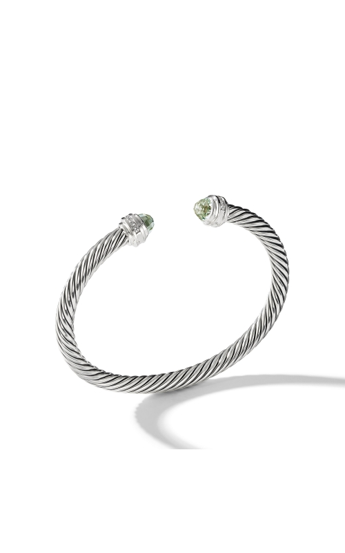 Bracelet with Prasiolite and Diamonds product image