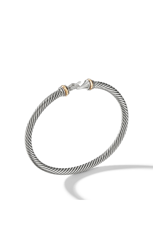 Cable Buckle Bracelet with Gold product image