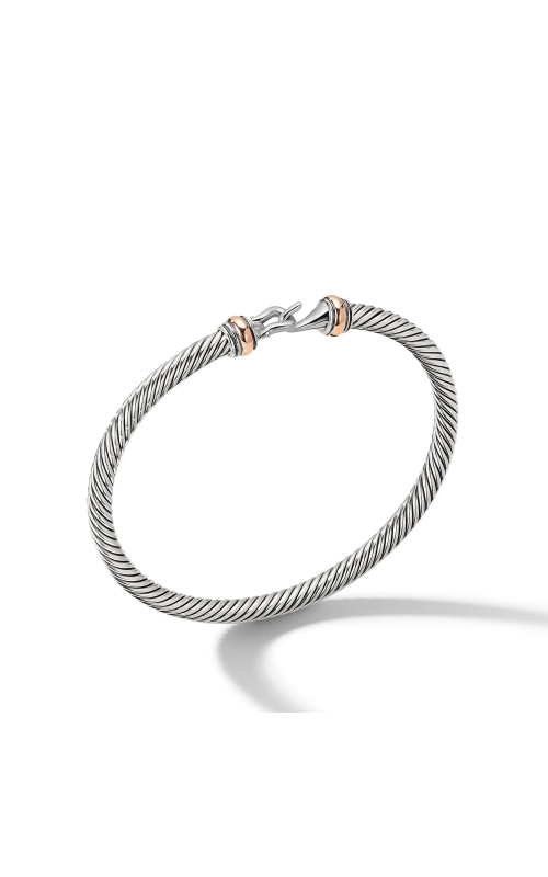 Cable Buckle Collection® Bracelet with 18K Rose Gold product image