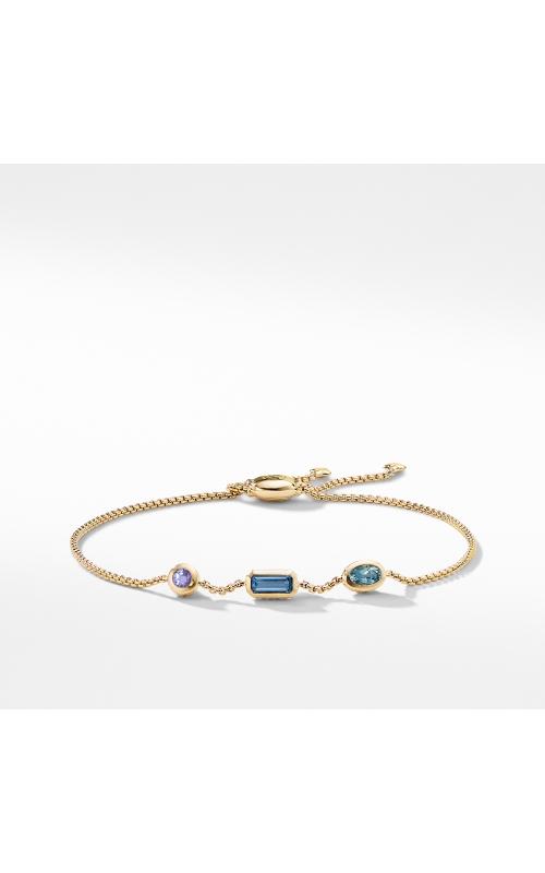 Novella Chain Bracelet in Hampton Blue Topaz, Aquamarine, and Tanzanite product image