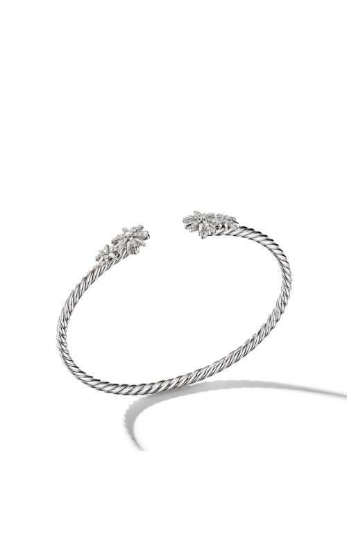 Starburst Open Cable Bracelet with Pavé Diamonds product image
