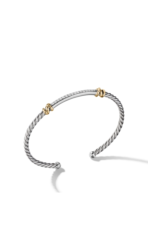 Petite Helena Two Station Wrap Bracelet with 18K Yellow Gold with Diamonds product image
