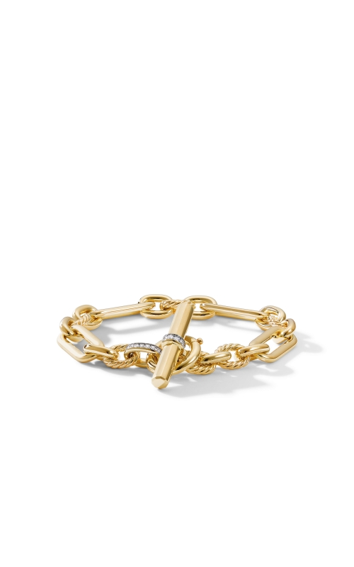 Lexington Chain Bracelet in 18K Yellow Gold with Diamonds product image